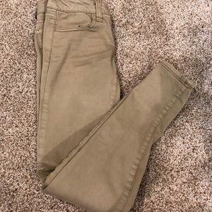 American Eagle Outfitters Jeans - American Eagle Skinny Jeggings Colored Jeans 00